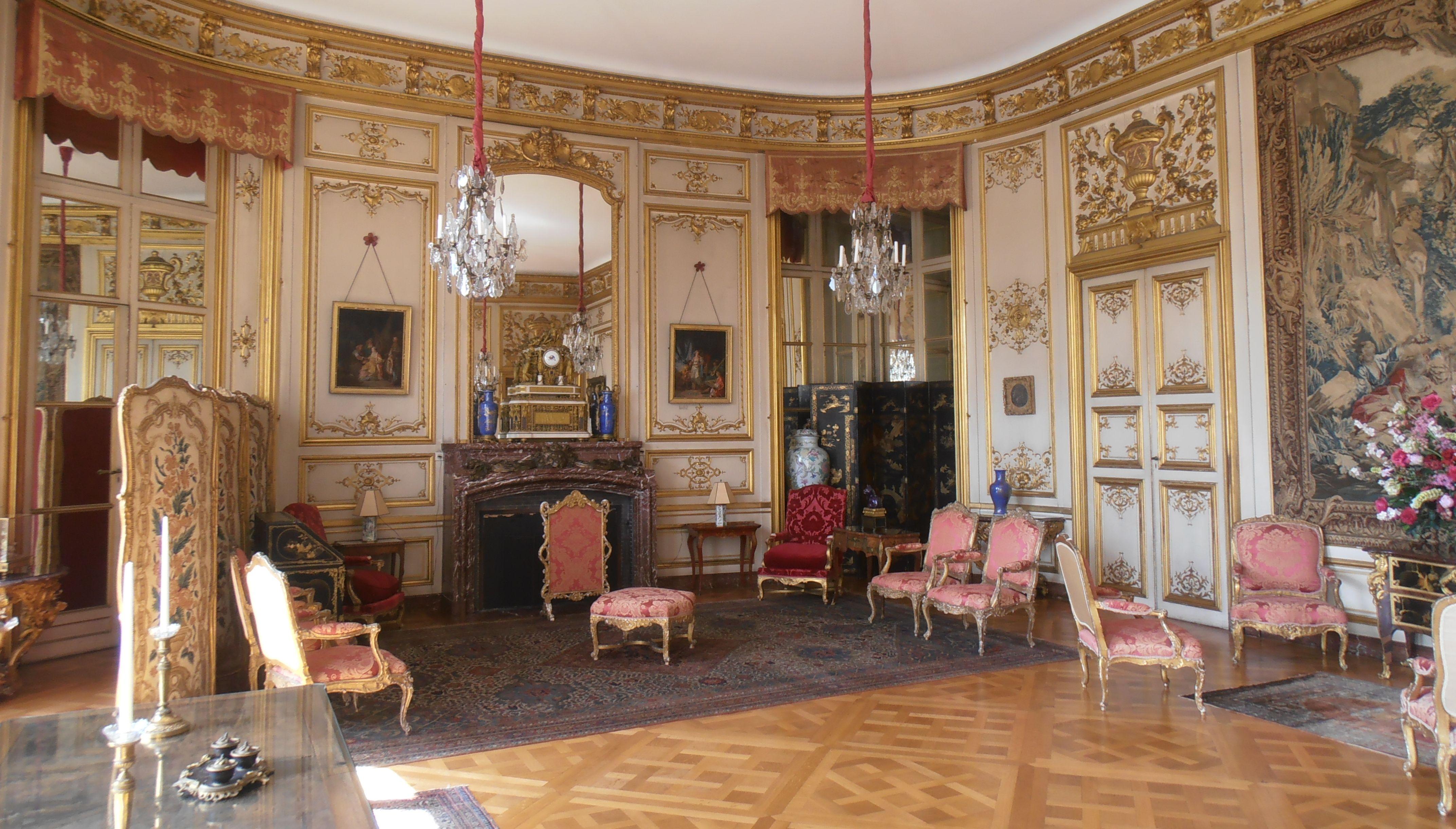 Château de BelOeil, Salon des Maréchaux.   Wohnkultur im ...
