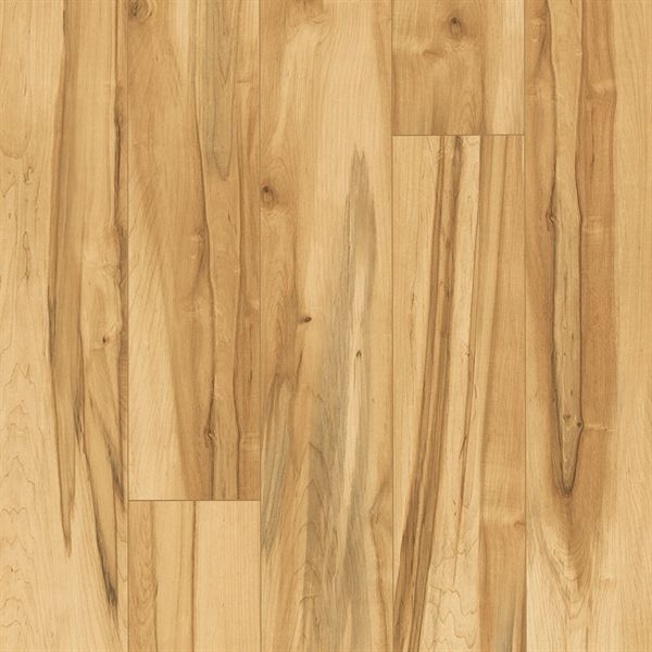 Shop Pergo 12mm Spalted Maple Smooth Laminate Flooring At Lowes