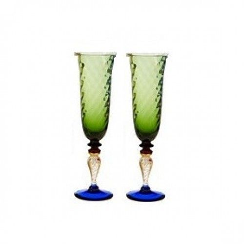 color champagne flutes | wedding-champagne-flutes-giulia-green-champagne-glasses-pair-2-500x500 ...