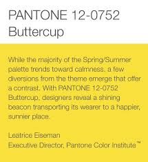 Resultado de imagen de amarillo buttercup