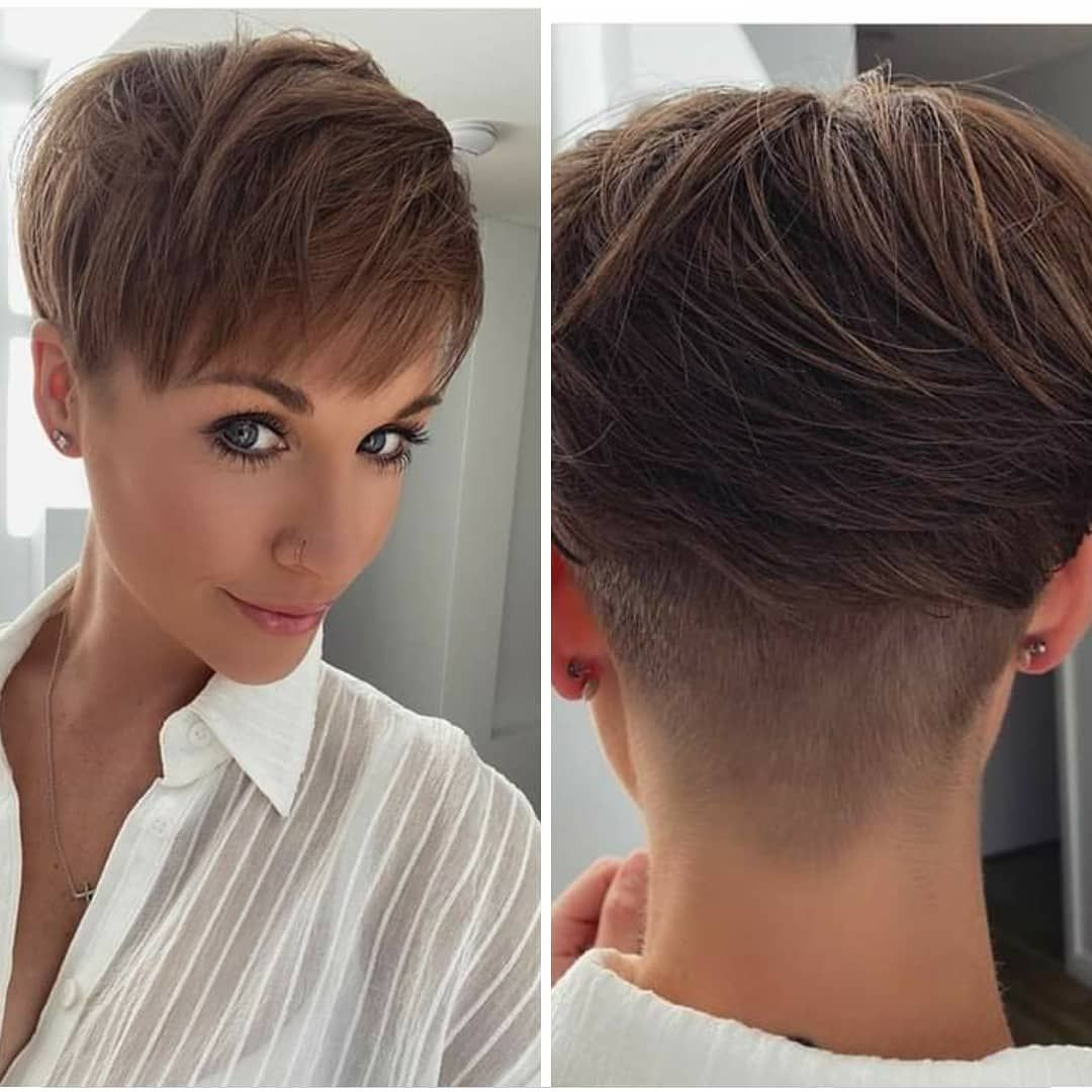 10 Simple Pixie Haircuts For Straight Hair Women Straight Hairstyles 2021 In 2020 Short Hair Styles Trendy Short Hair Styles Womens Hairstyles