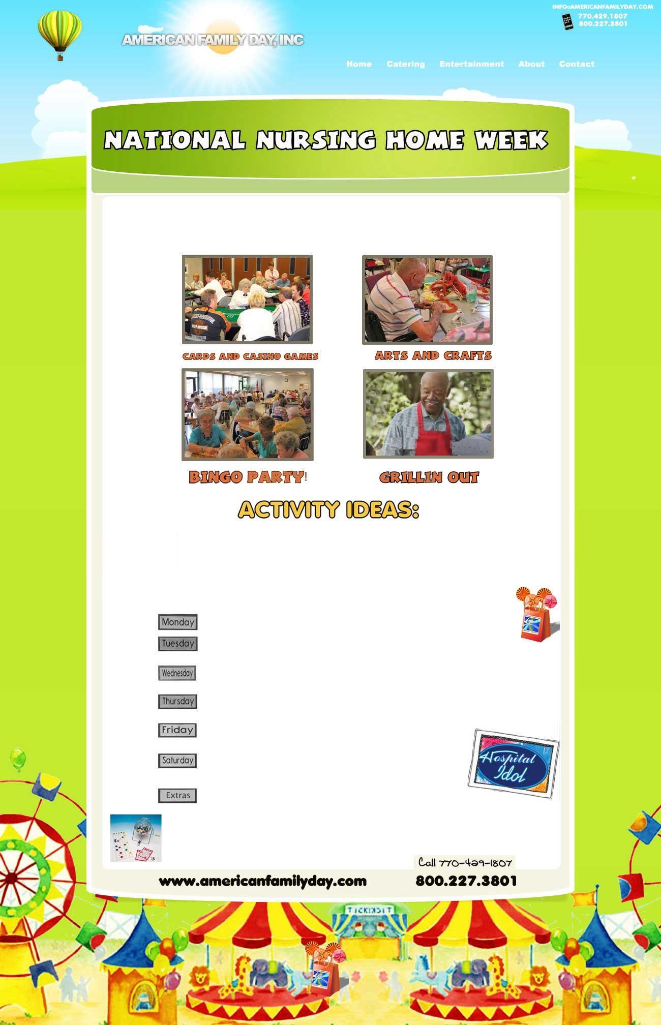National Nursing Home Week - Atlanta, GA Nursing Homes ...