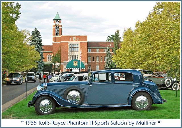 1935 Rolls Royce Phantom Ii Rolls Royce Canton Ohio Ohio