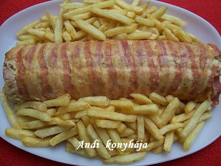 Csirkemell őzgerinc formában Andi konyhája - Sütemény és ételreceptek képekkel - G-Portál