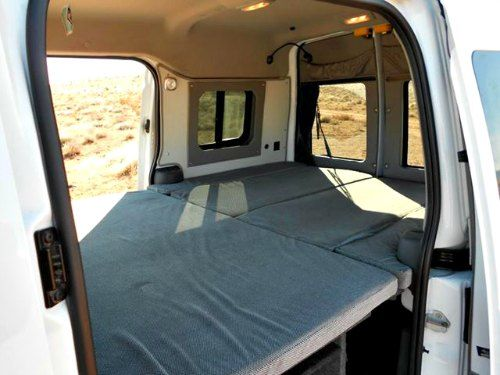 the ford transit connect camper is a sporty mini van for singles and couples looking for a. Black Bedroom Furniture Sets. Home Design Ideas