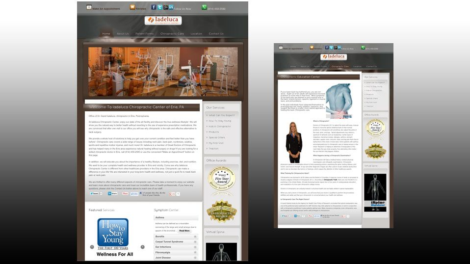 Iadelucachiropracticcenter Website Design With Images Problem Solving Solving Stay Young