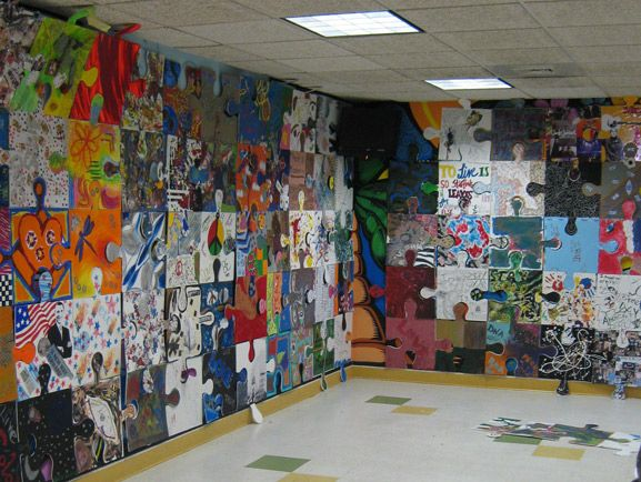 Puzzle Installation And Collaborate Project Tim Kelly Artist