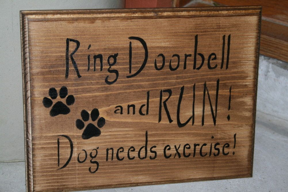 Funny Dog Sign Dog Lover And Pet Decor Beware Of Dog