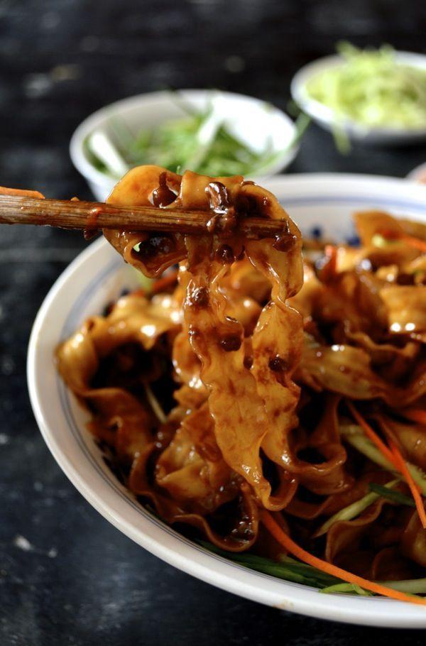 Beijing Fried Sauce Noodles Zha Jiang Mian Recipe Asian Recipes Asian Cooking Asian Cuisine
