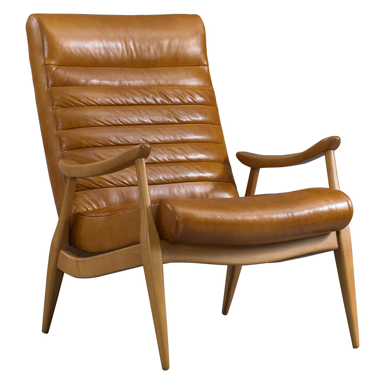Captivating DwellStudio Hans Leather Chair @Zinc_Door Something Similar To This In  Fabric