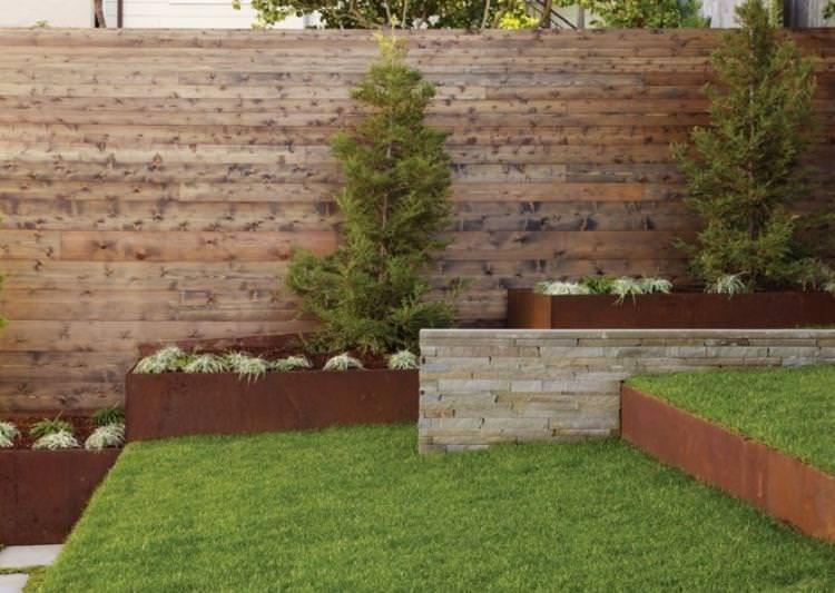 16 Corten Steel Landscaping Ideas For Garden Design