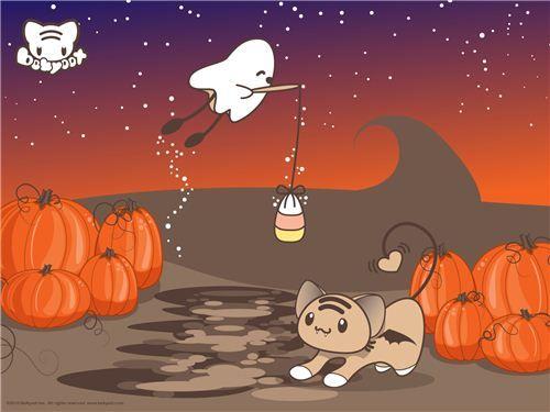 Halloween Fishin Wallpaper By Lafhaha On DeviantART