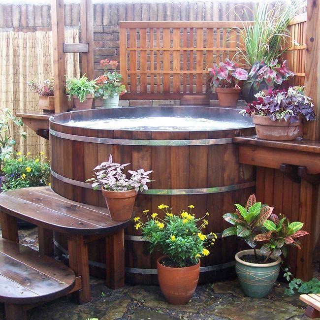 Hot tub spa designs for your backyard. #HotTubsIdeas ...