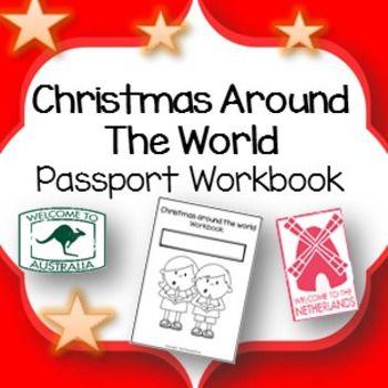 Christmas Around the World ** Passport Workbook ** Travel to world