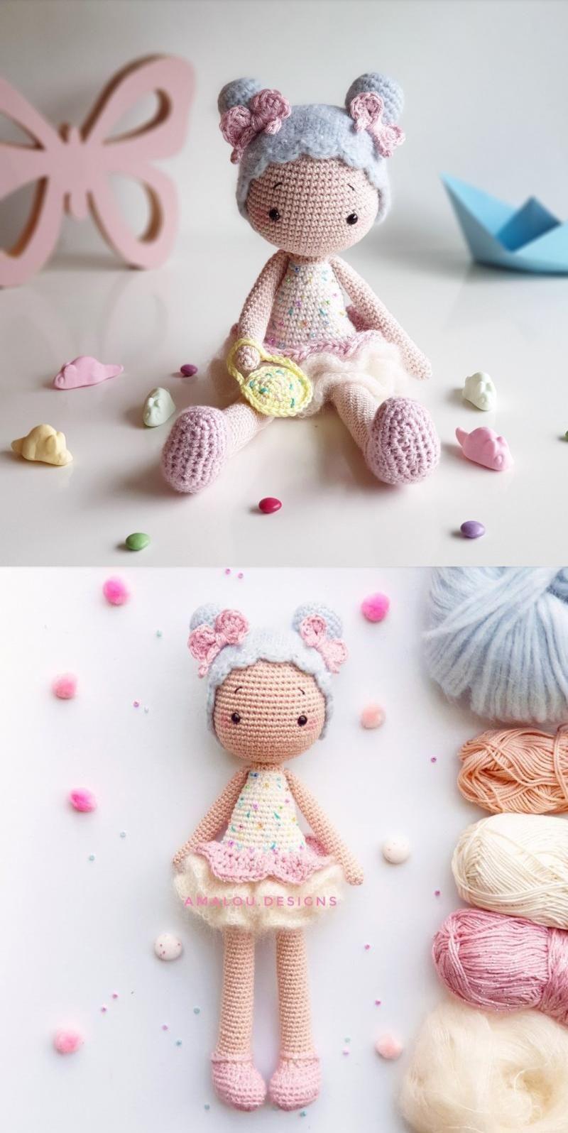 Crochet doll PATTERN, AMIGURUMI pattern, amigurumi doll pdf ... | 1596x800