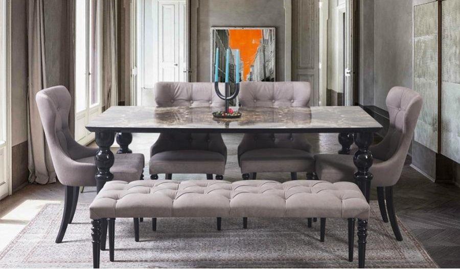 16++ Esstisch mit 4 stuehlen Sammlung