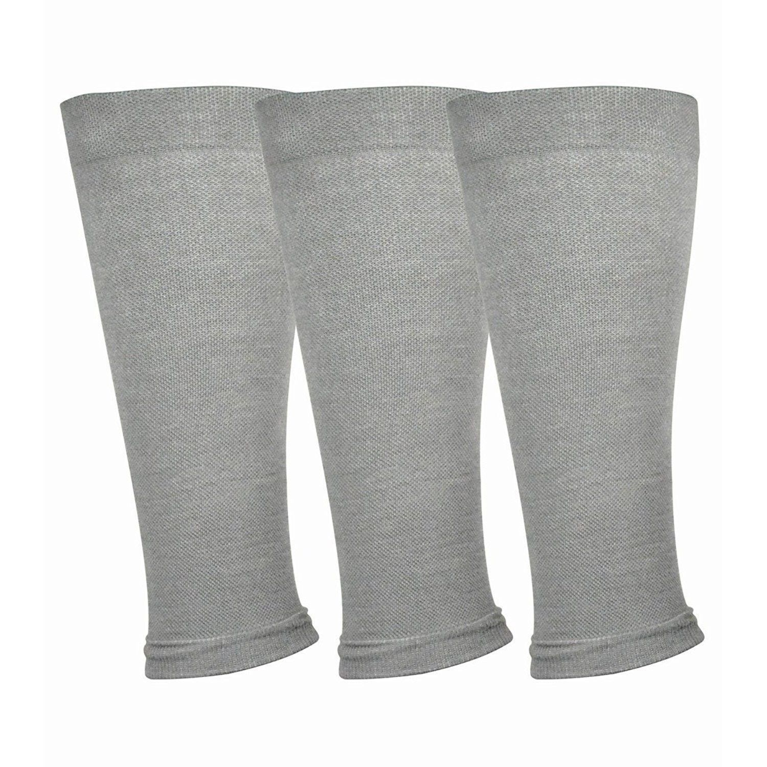 TeeHee from Bamboo Footless Compression Sleeve with Rib 3-Pack