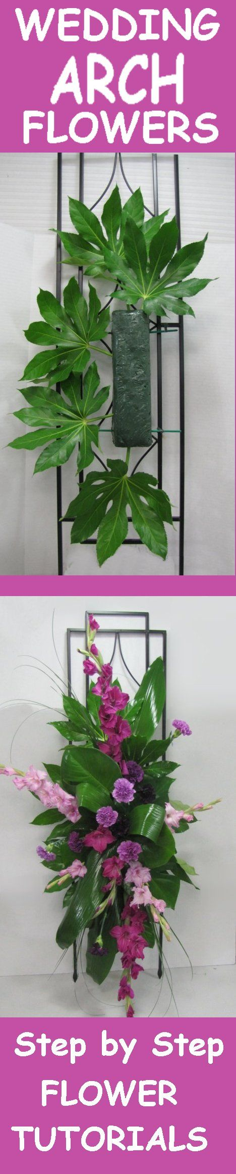 Wedding arch flowers free picture tutorials learn how to make wedding arch flowers free picture tutorials learn how to make bridal bouquets wedding corsages junglespirit Image collections