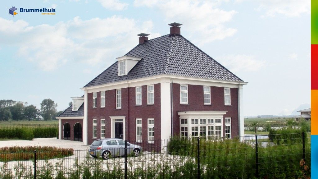 Herenhuis brummelhuis ontwerpen huizen in