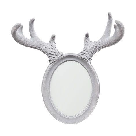 Deer antler shaped mirror zara home greece for Mirror zara home