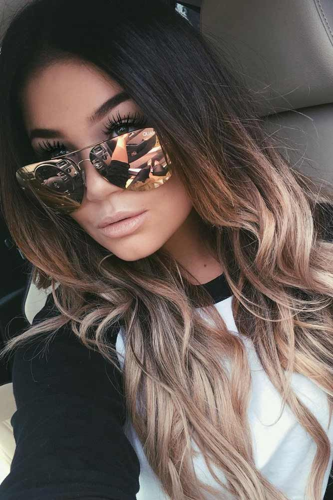 Great Ombre Styles for Darker Ombre Hair ★ See more: http ...