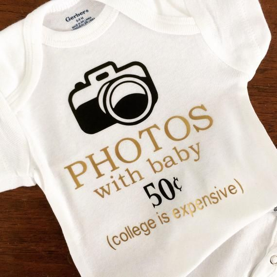 a91d51a7a474 Photos with Baby Onesie