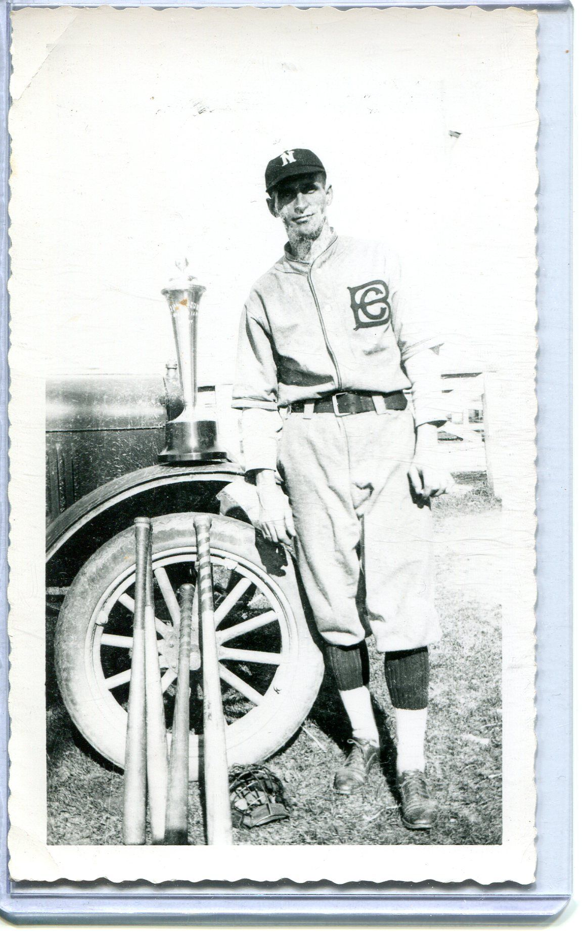 Vintage Baseball Real Photo Postcard