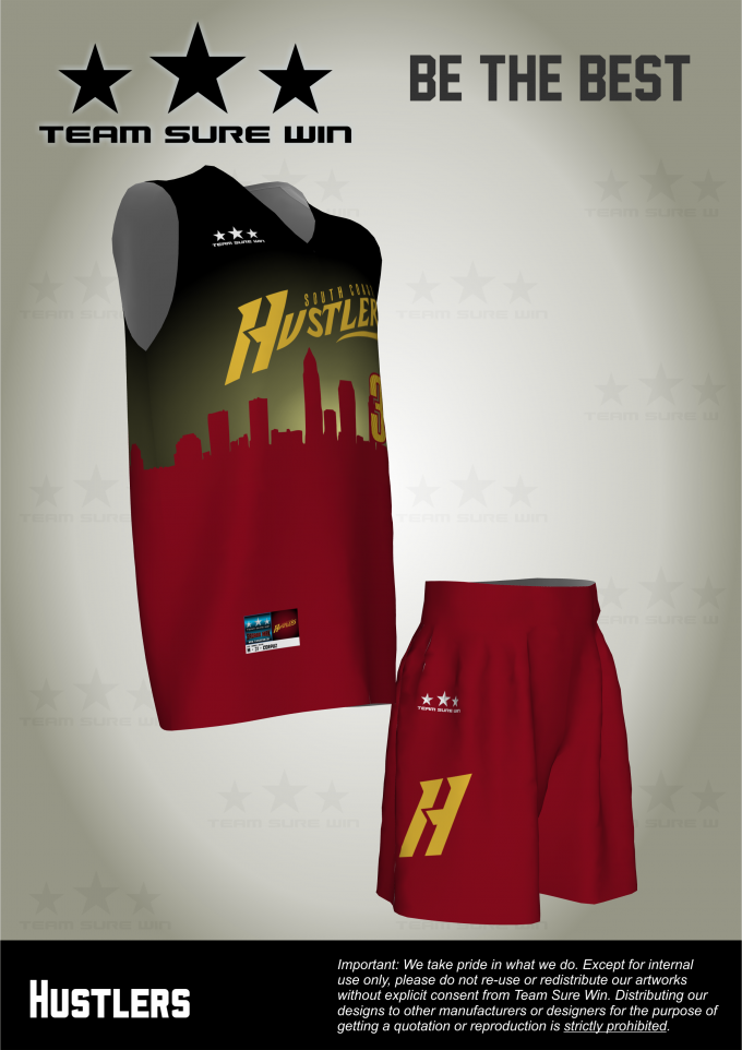 4f90e733c98 Client  Southcoast Hustlers Product  Basketball uniforms