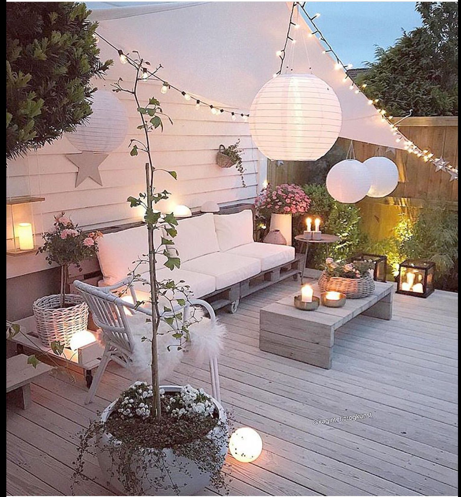 Follow Me For More Portialina Boho Garden Ideas Lighting