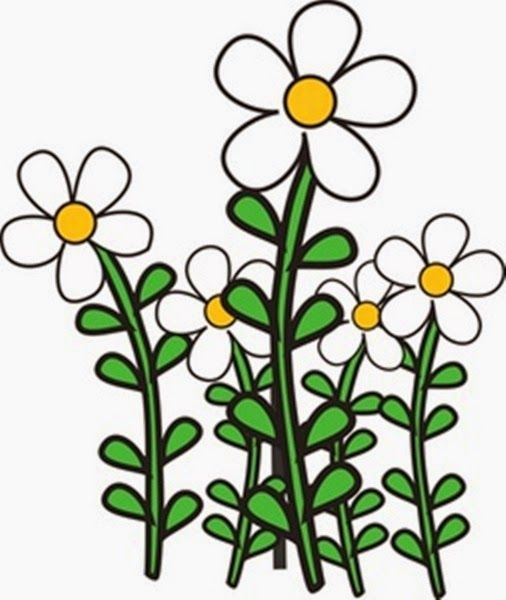 flower garden clip art design decorating 72684 garden ideas rh pinterest com flower garden clip art borders flower garden clipart black and white
