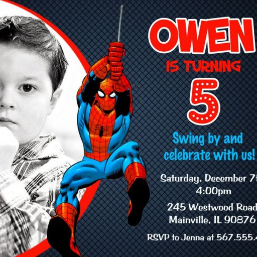 Superhero spiderman printable birthday party invitation superhero superhero spiderman printable birthday party invitation superhero spiderman spiderman birthday invitations and party invitations filmwisefo