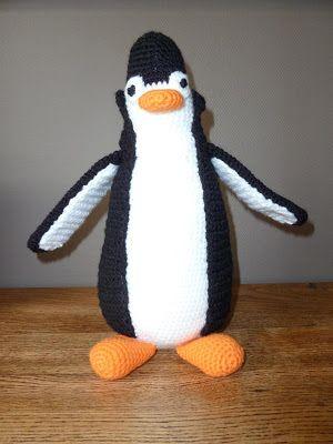 Poekie Haakpatroon Pinguïn Gratis Droomdiertjes Pinterest