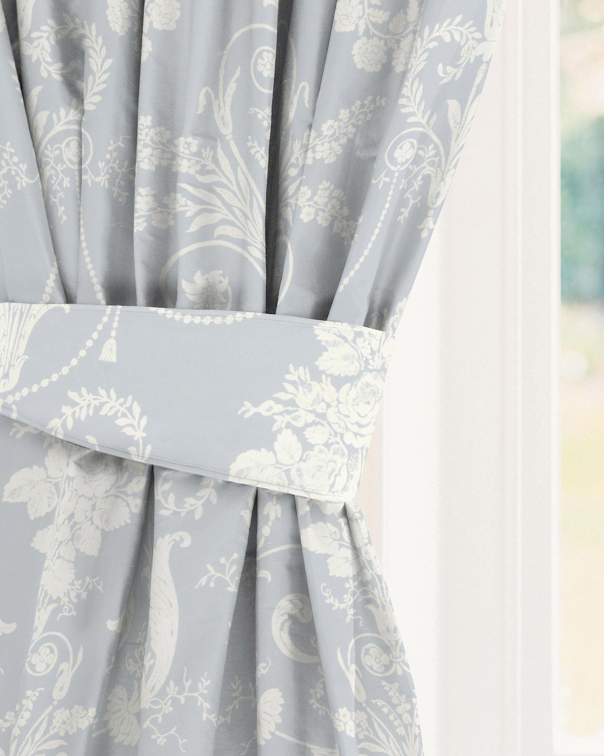 Made to measure curtains in Josette Seaspray Laura Ashley