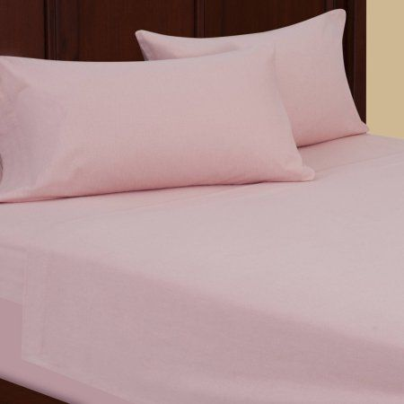 Mainstays Ms Flannel Sheet Set Pearl Blush Dyed Walmart Com Microfiber Bedding Flannel Bed Sheets Sheet Sets