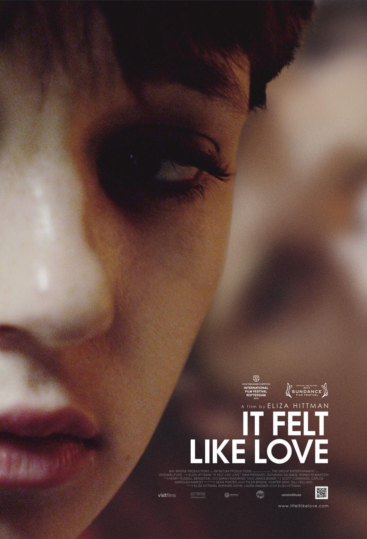 Extra Large Movie Poster Image For It Felt Like Love Movie Posters Indie Movie Posters Movie Posters Design