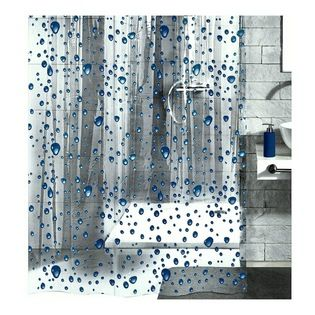 Pvc Free Shower Curtain Bubble Design Great For A Kid S