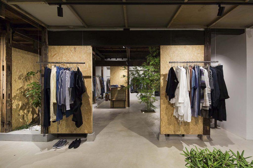 Tienda Bankara, ropa vintage en una vivienda japonesa tradicional