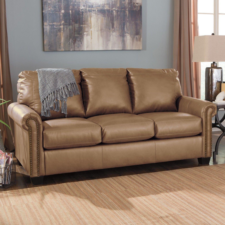 Leather Sofa Sleeper Full