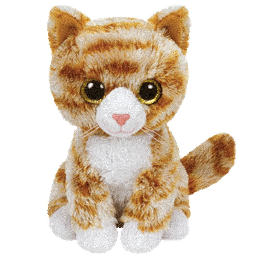 Ty Beanie Boo s 8 BOOTIES the Tabby Cat Beanies Soft Toy
