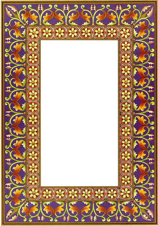 Treasury Of Illuminated Borders In Full Color Frames