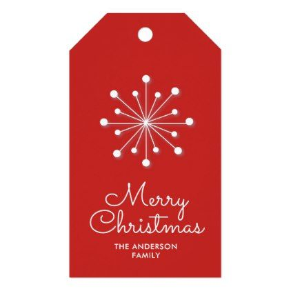 Snowflake on red background i merry christmas gift tags snowflake on red background i merry christmas gift tags xmas christmaseve christmas eve christmas merry negle Choice Image