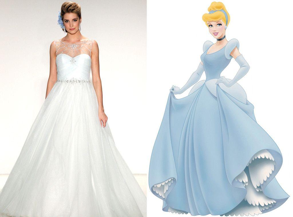 Princess Ball Gown Wedding Dresses: Cinderella From Alfred Angelo's Disney Princess Wedding