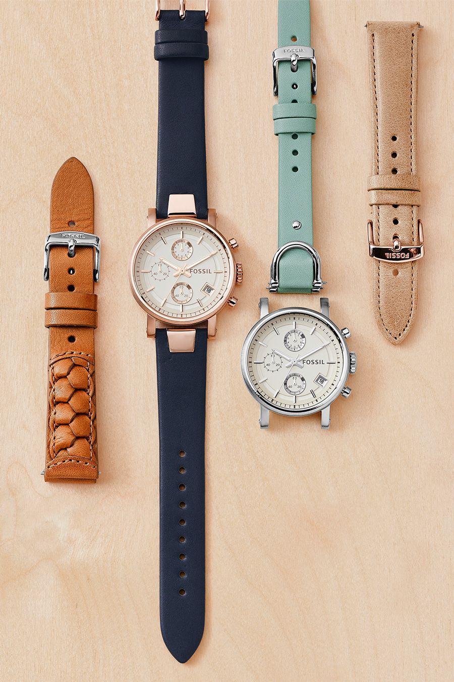 Interchangeable Watches Women S Interchangeable Watches Boyfriend Watch Fossil Watches Women Womens Designer Watches