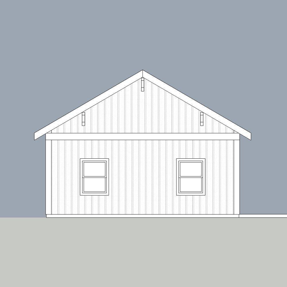 Exceptional Engineered Permit Ready Wood Garage