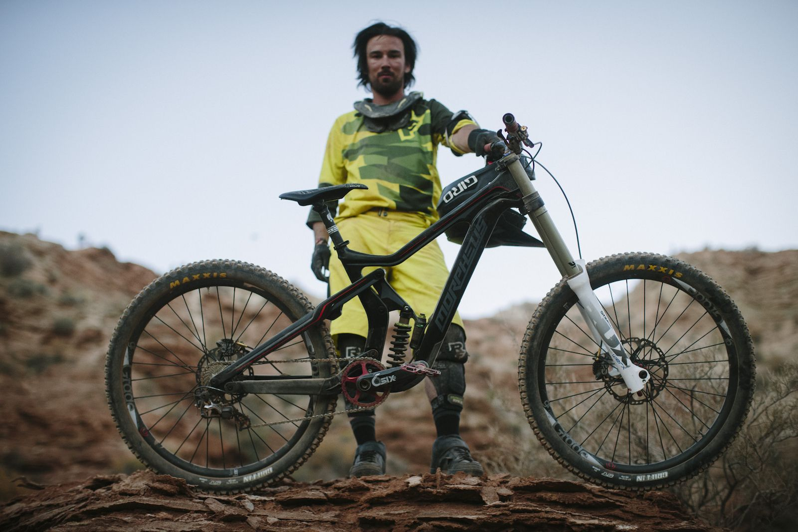 38 Bikes From Red Bull Rampage 2015 #utahusa Mitch Chubey at RedBull Rampage 2015 Virgin Utah USA #utahusa