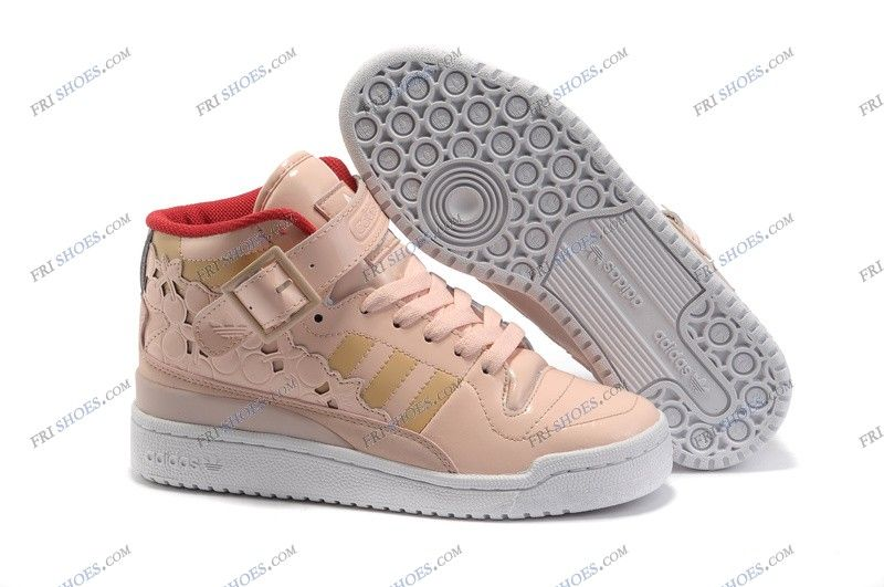 9a7fedde59c5a ... uk adidas forum mid pink red womens athletic basketball shoes adidas  sale regular price 125.00 special