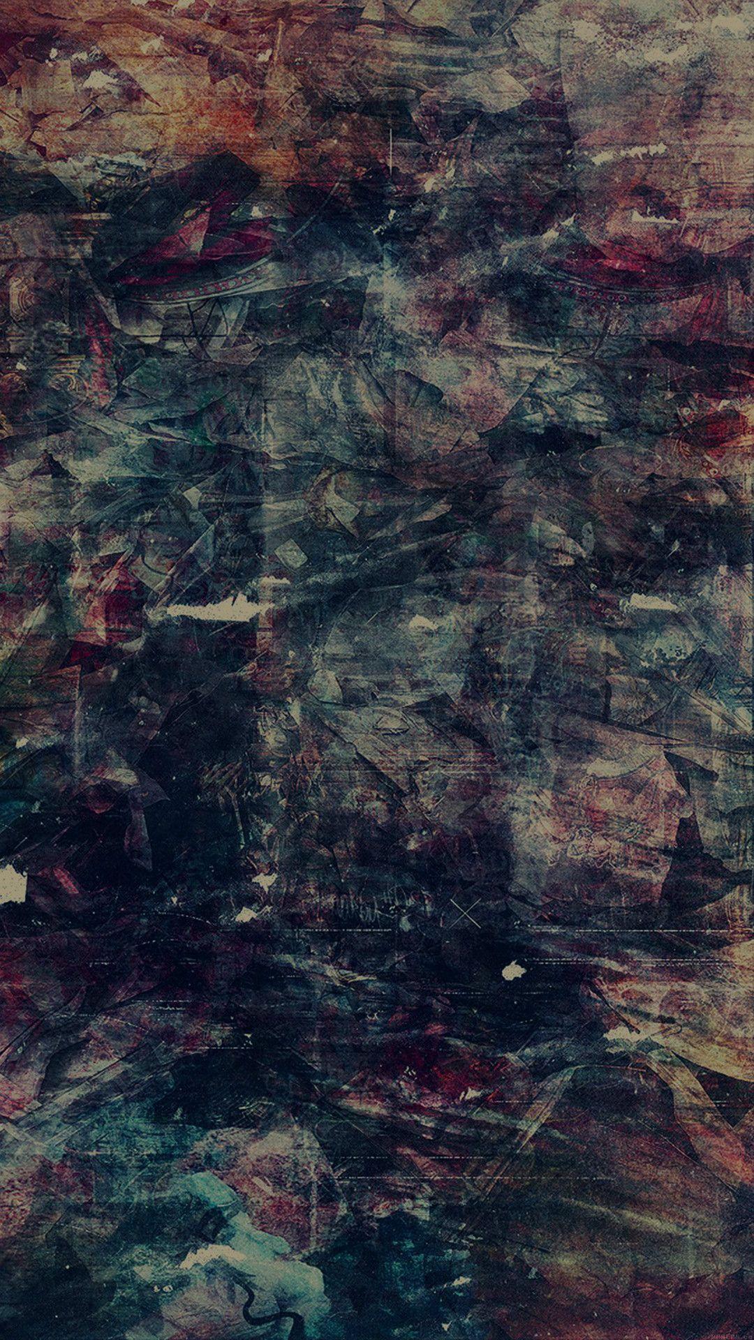 Wonder Lust Art Illust Grunge Abstract Dark iPhone 6