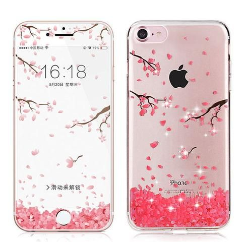 iphone 7 phone case cherry blossom