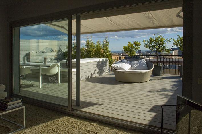 Diseño Terrazas, Diseño Exteriores, Decoración Exteriores Terraza - diseo de exteriores