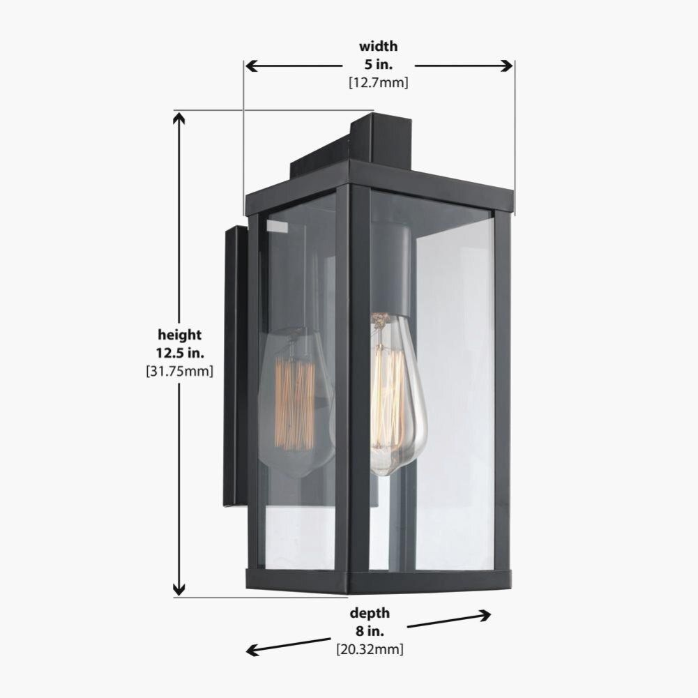 Bel Air Lighting Oxford 1 Light Black Outdoor Wall Lantern Sconce Bk The Home Depot In 2020 Bel Air Lighting Exterior Light Fixtures Outdoor Wall Lantern